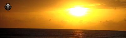 Pôr do sol na Dunna da Vila - Jericoacoara
