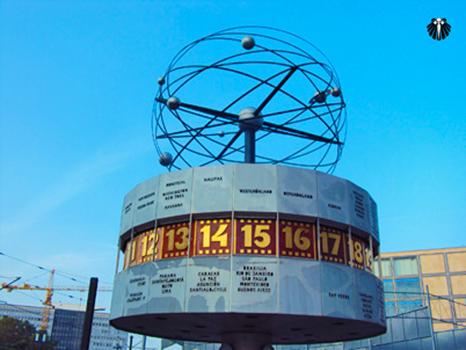 Relógio Mundial na AlexanderPlatz. Thumb