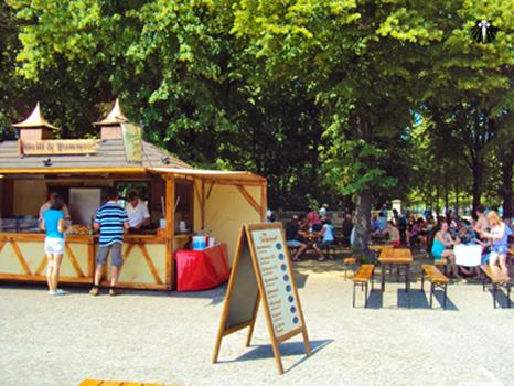 Portão de Brandenburger - Praça de alimentação lado norte. Thumb
