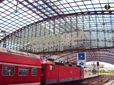 Estação Central de Berlim, Berlin Hauptbahnhof. Thumb