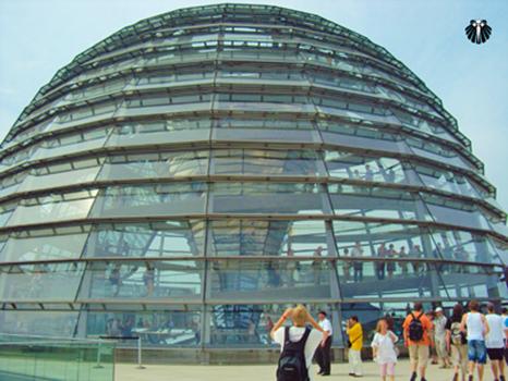 Palácio do Reichstag, Reichstagsgebäude - Parlamento Alemão. Thumb