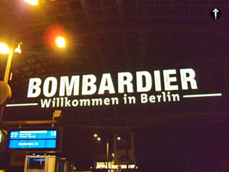 Estação Central de Trem em Berlim. Thumb