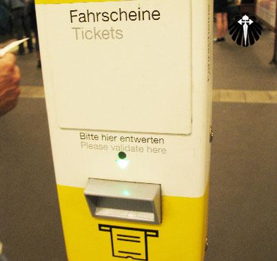 maquina de validação de tickets