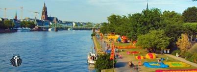 Parque as margens do Rio Main