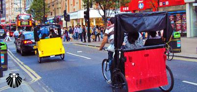Transporte alternativo em Londres