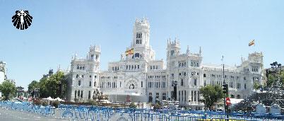 Plaza Cibeles na JMJ Madri 2011