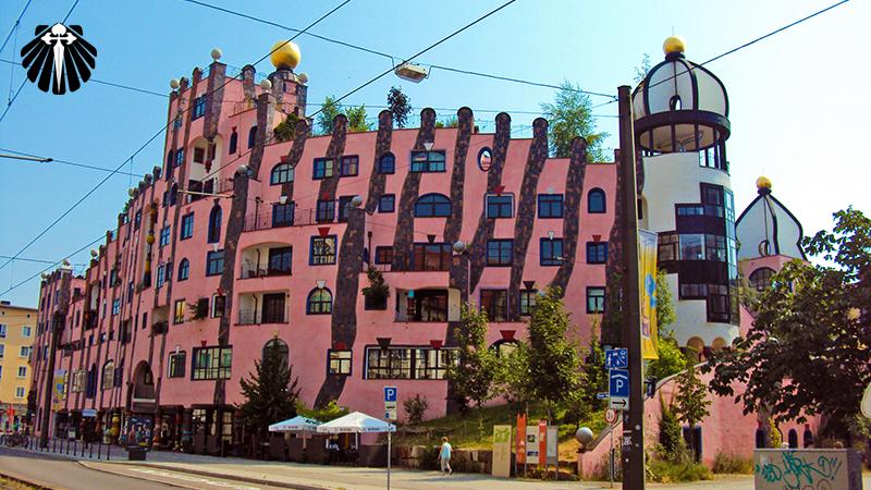 Casa de Hundertwasser ou Cidadela Verde