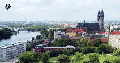Rio Elba, Catedral de Magdeburg