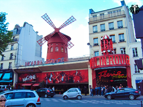 Molin Rouge, Pigalle. Thumb