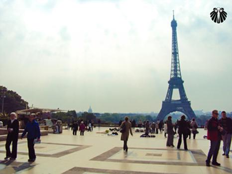 Torre Eiffel vista do Palácio do Trocadero. Thumb