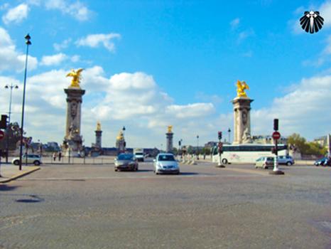 Pont Alexander III, presente Russo aos Parisienses. Thumb
