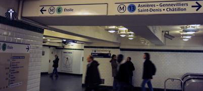 Metrô de Paris, mlhor maneira de conhecer a cidade.