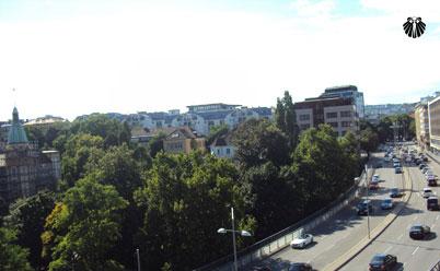 Paulinenstraße vista da janela do quarto