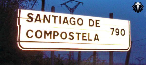 Sinalização encontrada em Roncesvalles