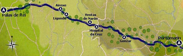 Rota do Caminho Francês - Etapa 27