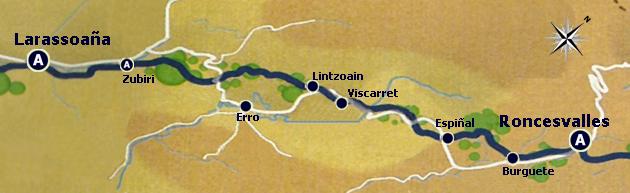 Rota do Caminho Francês - Etapa 2