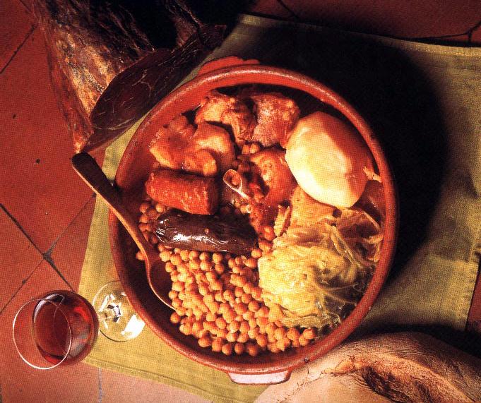 Cozido Maragato, especialidade de Astorga.